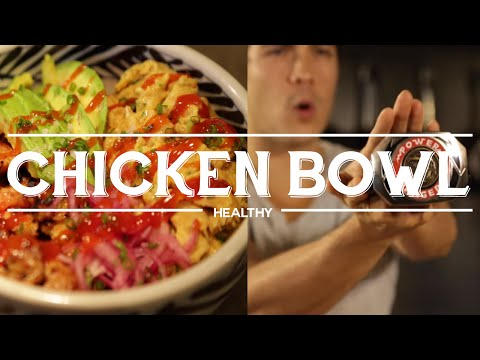 Chicken and Egg Brown Rice Protein Bowl – Power Meal fit for a Power Ranger