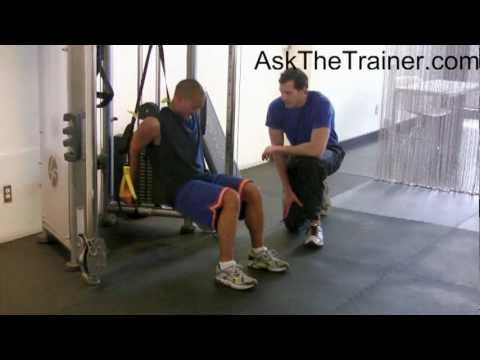 TRX Suspension Trainer Triceps Dips – Tricep Dip with Fitness Anywhere Trainers