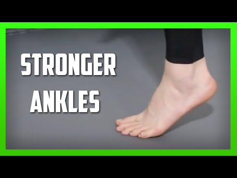 Three Ankle Strengthening Exercises – No Equipment Required