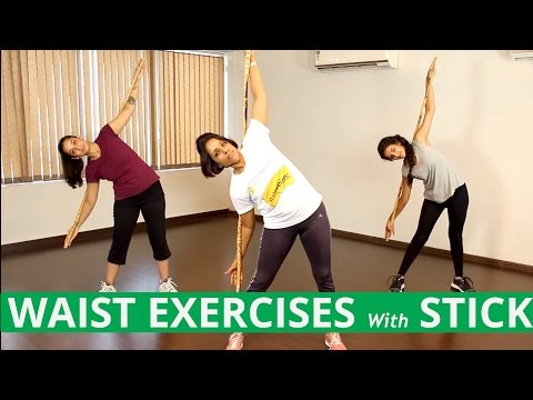 Best SLIM WAIST EXERCISES For Women At Home