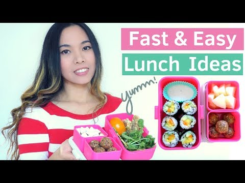 10 MIN Healthy Vegan Lunches » NO COOKING | Get Fit For Back to School #7