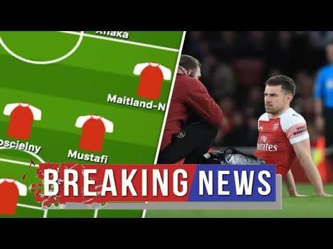 Arsenal news :  Arsenal team news vs Everton: Predicted line up –Three face fitness tests, Ozil dec