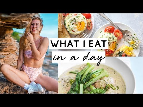 WHAT I EAT IN A DAY   Intuitive eating with EASY RECIPES + LIFE UPDATE