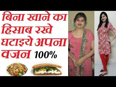 Diet Plan For Weight Loss For Women in hindi | फटाफट वज़न घटायेगा ये डाइट प्लान | Indian Diet Plan