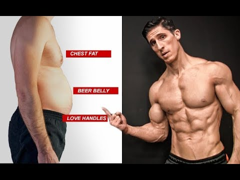 FAT LOSS 101 FOR MEN (Chest Fat, Belly, Love Handles!)