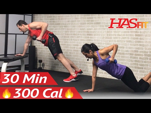 30 Min Beginner Strength Training for Beginners Workout – Weight Lifting Dumbbell Workouts Women Men