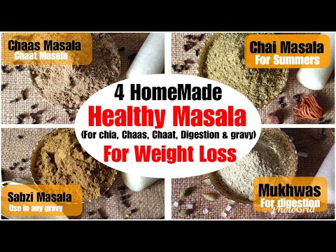 Healthy Homemade Masala/ Spices Recipes | How to make Chaat, gravy, tea, Masala at Home| In Hindi