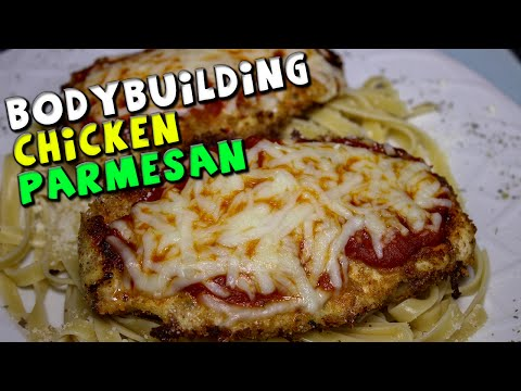 BODYBUIDING Chicken Parmesan Recipe (Quick)