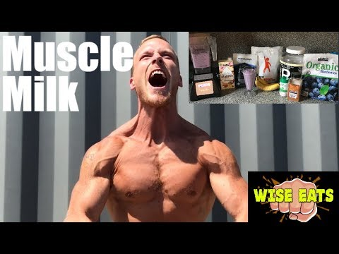 Wise Eats Muscle Milk Recipe Video – Berry Vanilla (Workout Recovery Shake)