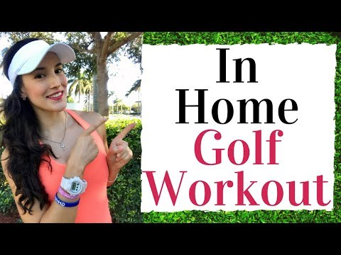 In Home Golf Workout! No Equipment Needed – Golf Fitness Tips