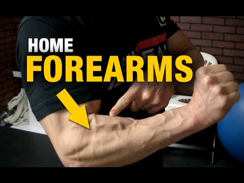 Home Forearm Exercises (RIPPED FOREARMS – WITH A CHAIR!)