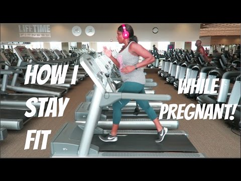 HOW I'M KEEPING MY HUGE PREGNANT SELF FIT! | FITNESS TIPS FOR EVERYONE! | SANDE'S SEXY 60 |