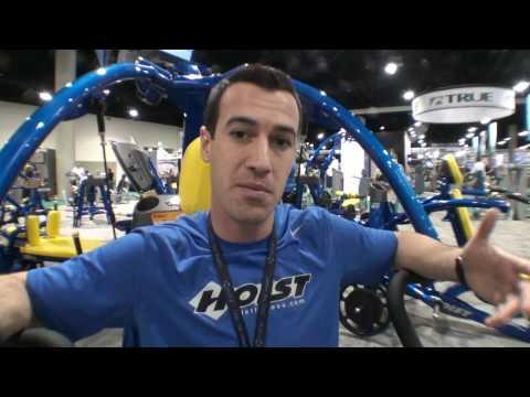 IHRSA 2010 – HOIST Commercial Gym Equipment – Jon Ham from Fitness On The Run.mp4