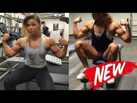 SOPHIE ARVEBRINK – Best Upper Body Workouts For Women [Fitness Gym]