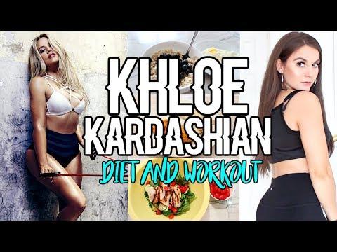 Trying KHLOE KARDASHIAN'S Diet & Workout