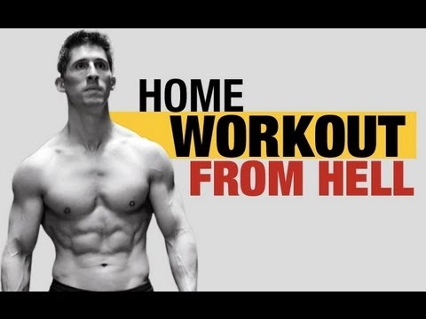 HOME WORKOUT FROM HELL – 5 Killer Home Exercises !!!