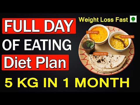 WEIGHT LOSS | FULL DAY DIET PLAN|5 KG IN 1 MONTH | HOW TO STAY ACTIVE AND FIT | INDIAN DIET PLAN.