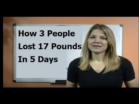 500 Calories a Day Diet Results-17 lbs, 5 Days, 3 People