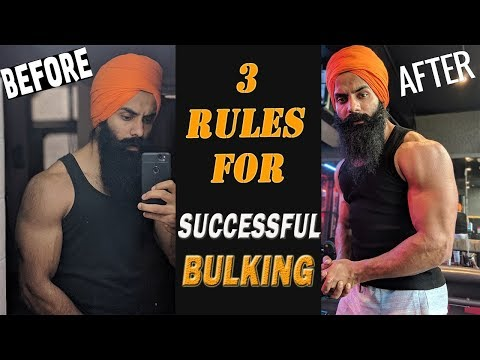 My 3 Size Gain Rules ||Don`t make these BULKING mistakes if you want to GAIN MUSCLE