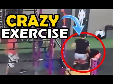 CRAZY Exercise 🏆GYM IDIOTS 🏆