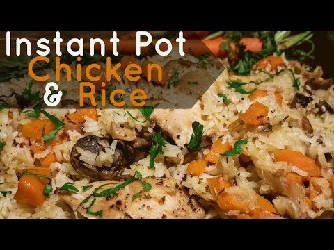 Instant Pot Chicken and Rice – Pressure Cooker Recipe