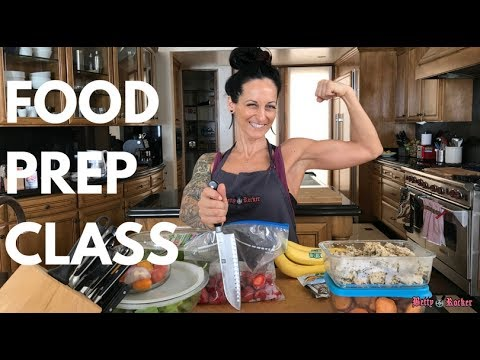 [Live Stream] Food Prep Class – Healthy Easy Recipes to Set Yourself Up for Success!