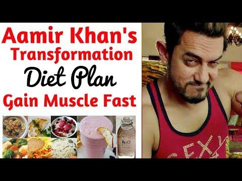 Aamir Khan Diet Plan For Weight Loss (हिंदी में) | Aamir Diet Plan Dangal | Lose Weight Fast 10kgs