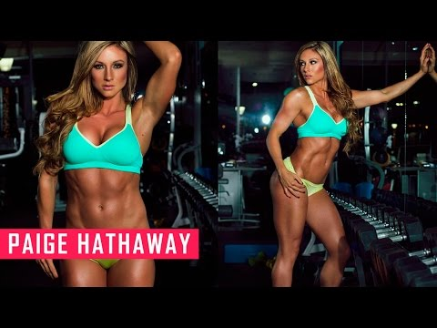 PAIGE HATHAWAY (Fitness Model) Workout & Exercises + Diet Plan