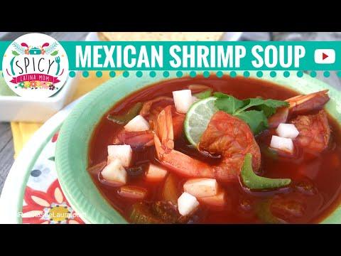 SHRIMP SOUP RECIPE | MEXICAN FOOD | Receta Caldo de Camaron – Spicy Latina Mom