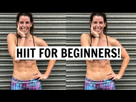 BEST AT HOME & GYM HIIT WORKOUTS FOR BEGINNERS | FAT BURN!