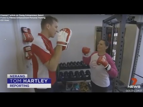 Channel 7 News interview with Scott Hunt, Fitness Enhancement