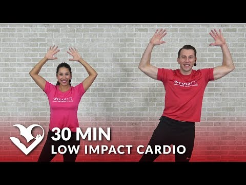 30 Minute Low Impact Cardio Workout for Beginners – 30 Min Standing Cardio with No Jumping Workout