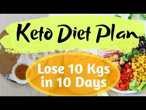 Keto Diet Plan for Weight Loss | Lose 10 Kgs in 5 Days | Indian Veg Ketogenic Diet Plan