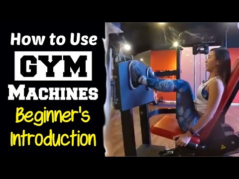 How to Use Gym Machines – Complete Beginner's Introduction | Joanna Soh