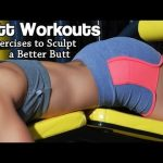 BUTT WORKOUTS FOR WOMEN – Lunges, Squats, Deadlift & Hip Extension | Fitness Motivation