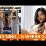 Strong Woman Heavy Lifting / Bodybuilding 5 Weeks Out Final (EAT Not Diet – Mimi Bonny)