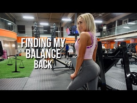 Post-Bikini Competition: FINDING MY BALANCE BACK