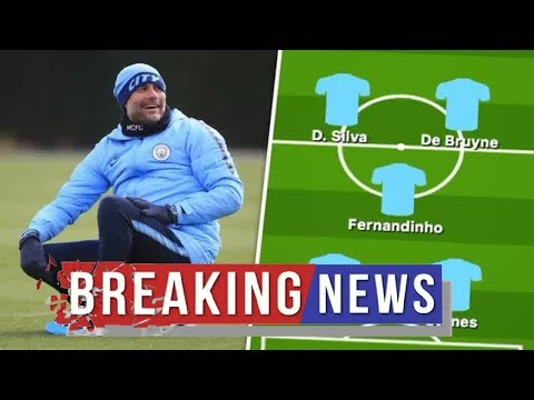 Man City team news vs Fulham: Predicted line up –Guardiola gives fitness update on stars Man City N