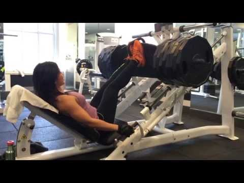 Strong Woman Heavy Lifting Off-Season (EAT Not Diet – Mimi Bonny)