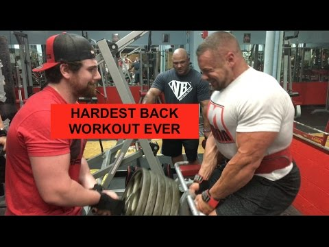Hardest Back Workout Ever UNEDITED at Coliseum Gym | Tiger Fitness