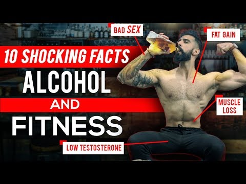 10 Shocking TIPS on ALCOHOL and FITNESS | Is DRINKING Good or Bad for Fat Loss and Muscle Gain