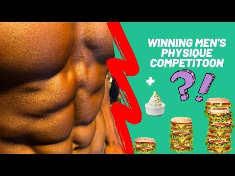FIRST Men's Physique Competition Win | Filthy Cheat Day