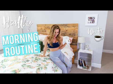 My Real HEALTHY Winter Morning Routine '18