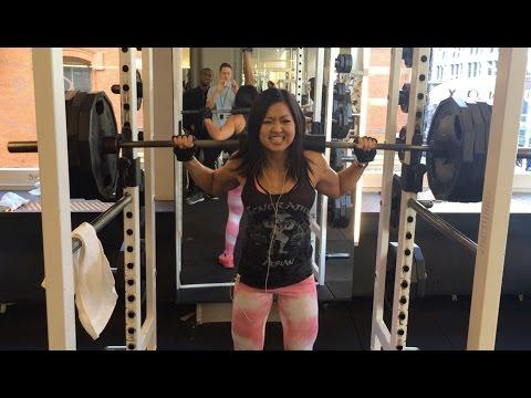 Woman Beast – 405lb Squats! Fun Silly Video (EAT Not Diet – Mimi Bonny)