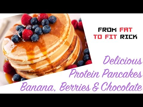 Protein Pancakes Recipe – (Great for weight loss or muscle gain)
