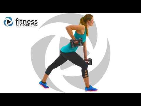 Total Body Strength Workout for People who get Bored Easily – Total Body Burnout