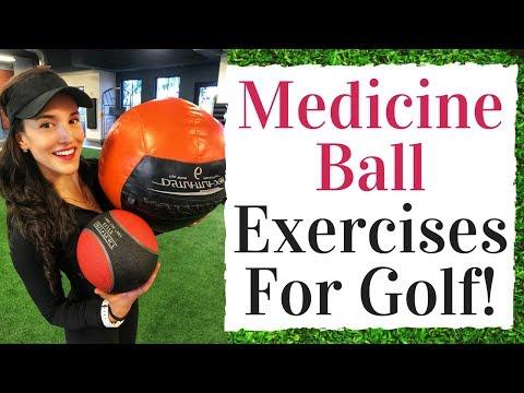 Medicine Ball Exercises For Golf –  Golf Fitness Tips