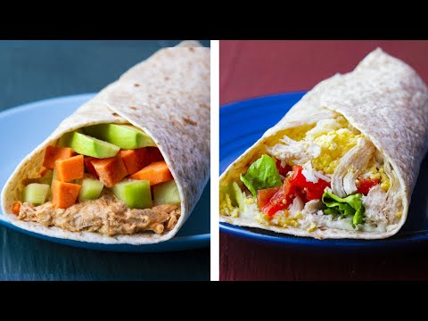 10 Healthy Wrap Recipes For Weight loss