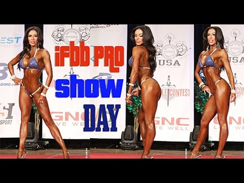 Competition Prep Vlog Day of IFBB Pro Bikini Show !
