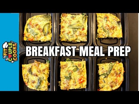 How to Meal Prep – Ep. 35 – BREAKFAST FRITTATA
